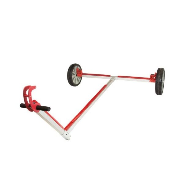 Optiparts trolley w large optiflex-lite wheels/ Optiparts jolle vogn m. store lite hjul.