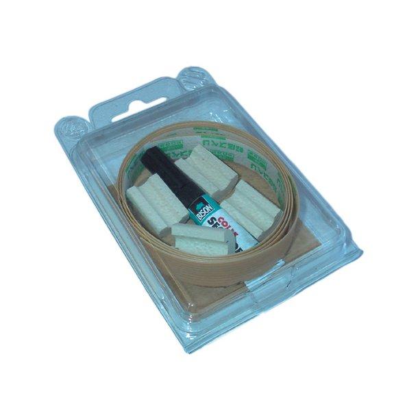 Protection kit, complete / Sværdkiste sæt (lim & tape)