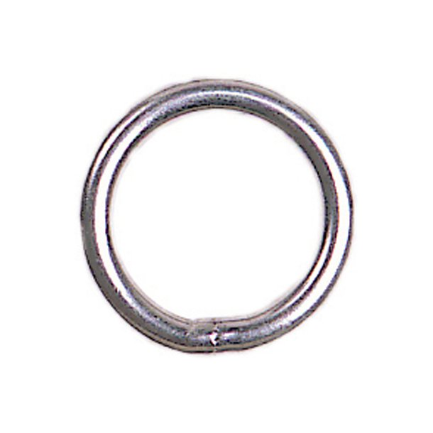 STAINLESS STEEL RINGS =SET OF 10=