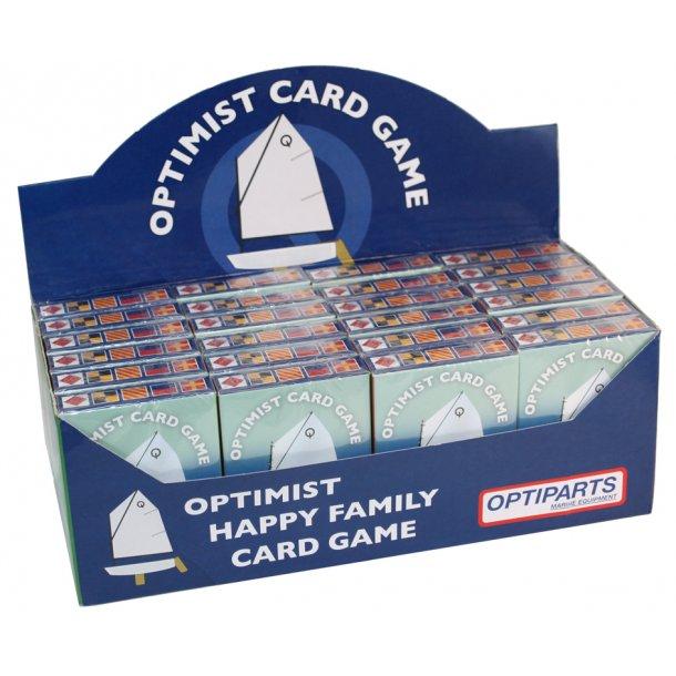 "OPTIMIST ""HAPPY FAMILY"" CARD GAME (24 pcs)"