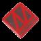 Winner Logo 3D, 50*50mm