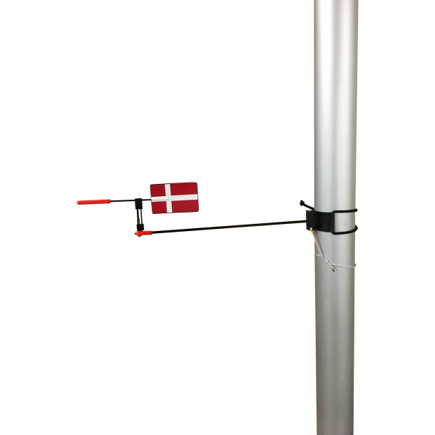Horizontal Wind indicator by Blacksmith Danish Flag