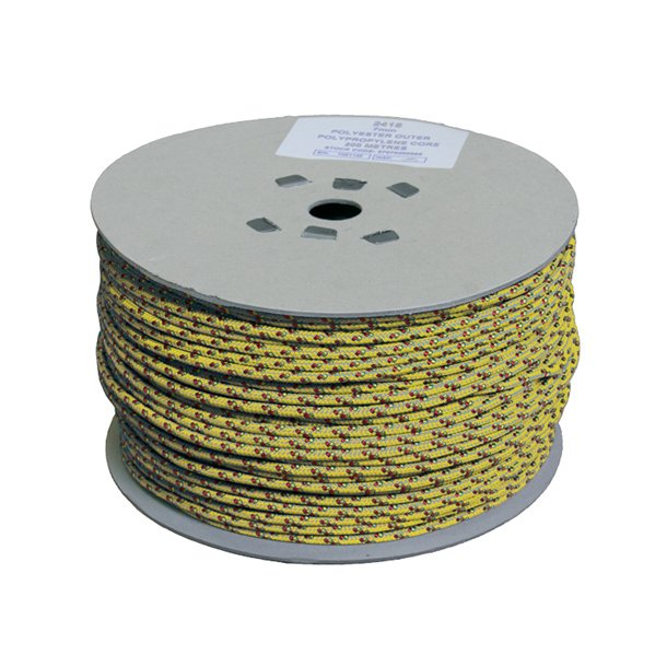 6MM ROOSTER SHEET 200 M REEL YELLOW