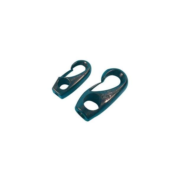Nylon hook 6 mm black/ Nylon krog 6 mm sort