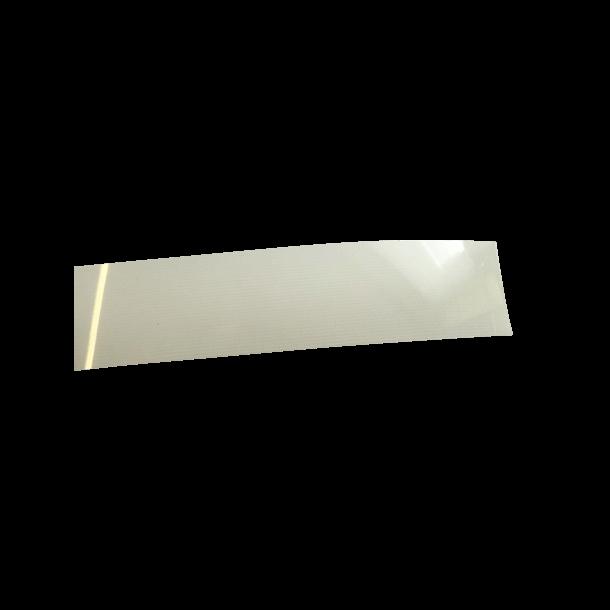 PVC læber til E-jolle -  samlet sæt, smalle 2,5cm
