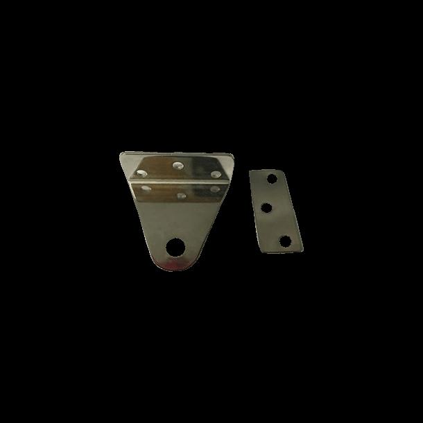 Rudder ankels for E-dinghy / rorvinkler