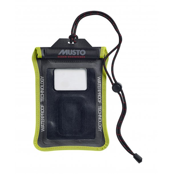 Musto Evolution Waterproof Smart Phone Case Black