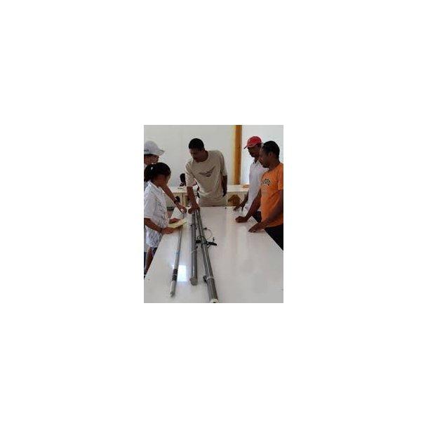 Measurement spar/ Måling af mast,spryd,bom