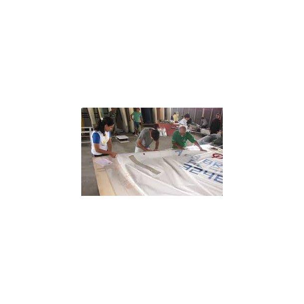 Measurement sail / Måling af sejl - inkl. papir