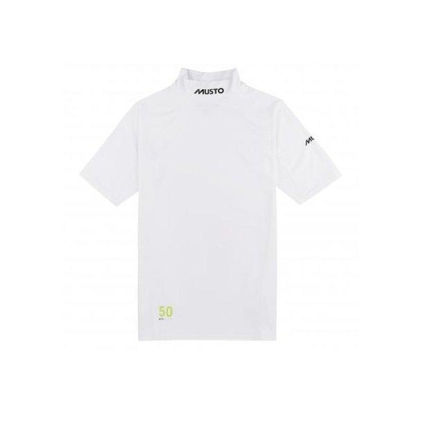 Musto SUNBLOCK RASH GUARD SS (short sleeve) White