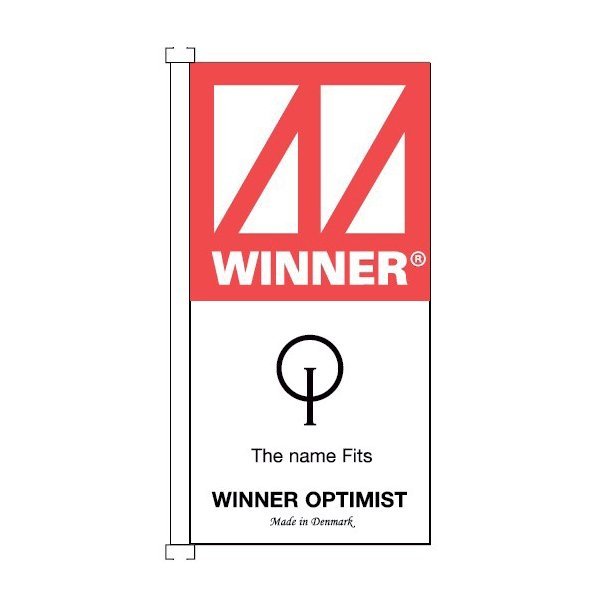 Winner Logo flag 100x50cm