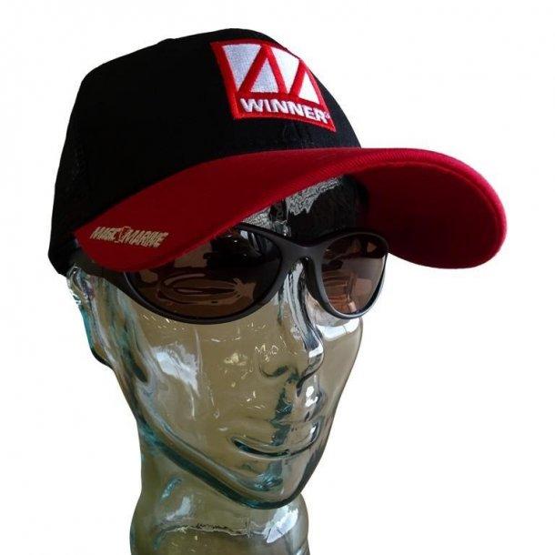 Winner Bungee Cap black/red